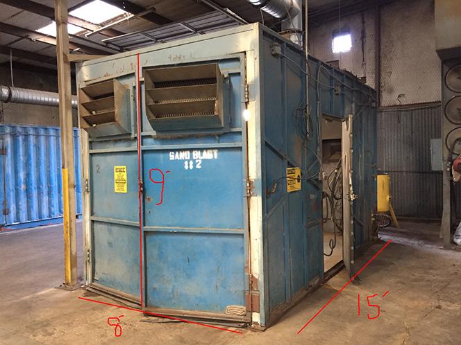 Used Blast Room Equipment